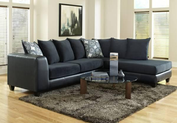 oversized leather sofa nc marshmallow 2 in 1 flip open disney sofia the first ***brand new navy sectional w/ deep seats --huge ...