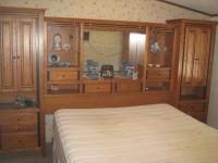 California king bed and headboard
