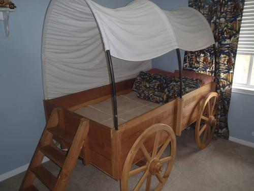 Childs Covered Wagon Bed for Sale in Flower Mound Texas