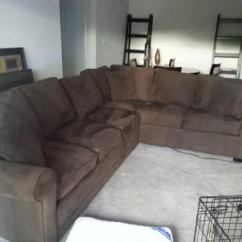 How To Clean Stains From A Microfiber Sofa Diwan Furniture Cindy Crawford Chocolate Brown Sectional In Good ...