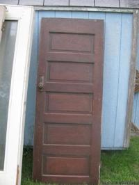 Cool Vintage Wooden Door & 2 Exterior Doors for Sale in ...