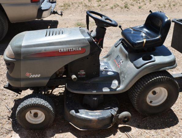 Craftsman Lt1000 Mower Deck Parts Diagram Craftsman Lt 2000 Mower