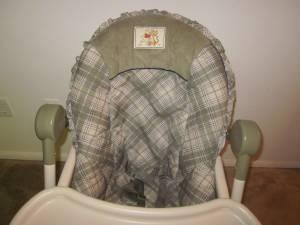 baby height chair natuzzi leather swivel disney winnie pooh high - (troy) for sale in montgomery, alabama classified ...