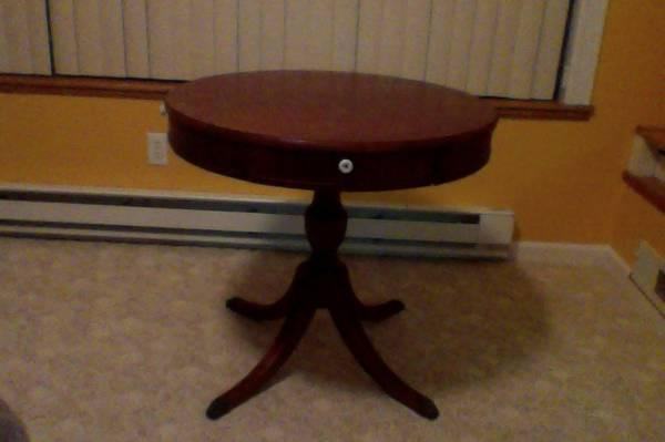 Table Round Dining Large Wood