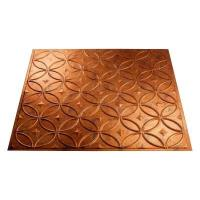 Fasade 4 ft. x 8 ft. Rings Muted Gold Wall Panel for Sale ...