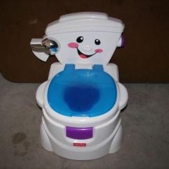 Singing Potty Chair Mission Style Morris Fisher Price