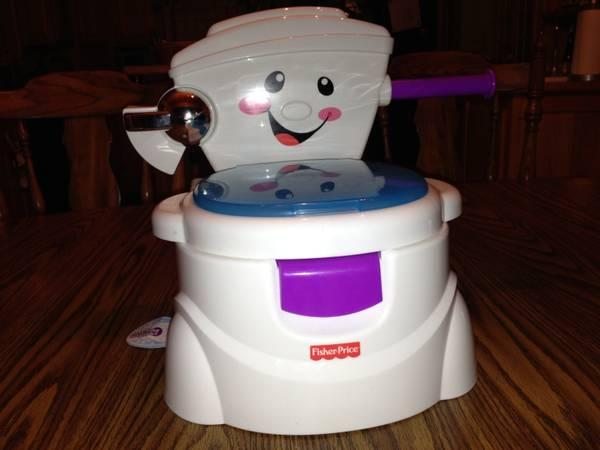 singing potty chair custom banquet covers fisher price for sale in rhinelander 15