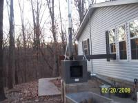 forced air outdoor wood furnace