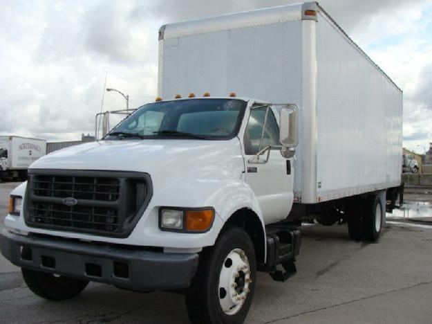 FORD F650 XL STRAIGHT BOX TRUCK FOR SALE For Sale In