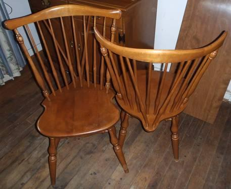 ethan allen dining room chairs victorian balloon chair four for sale in cincinnati ohio