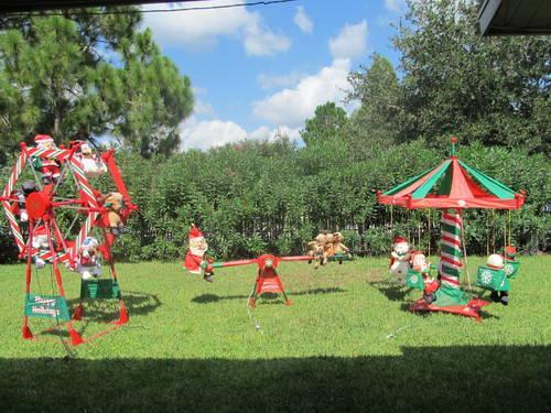Gemmy Christmas Ferris Wheel Outdoor Decoration