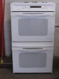 gently used GE Profile Wall mount double oven and matching ...