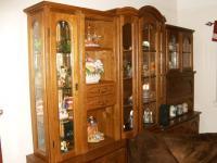 Antique German Shrunk Cabinet - Wallpaperall