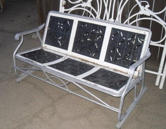 GLIDER antique PORCH  YARD swing  rocking chair for 2