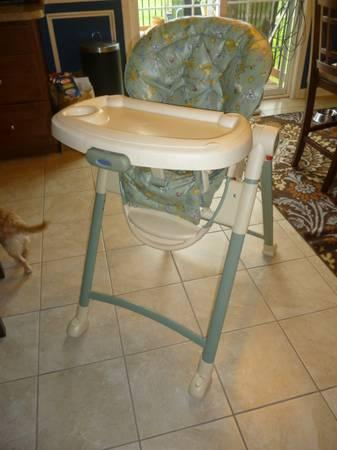 high chair with wheels outdoor wicker cushions graco highchair, for baby jungle animal patteren - sale in altenwald ...