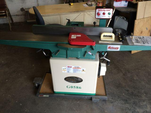 Grizzly 8 Jointer