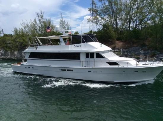 HATTERAS 78 Cockpit Motor Yacht For Sale In Dania Florida