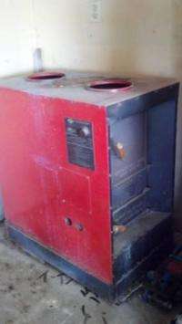 Hot Blast Wood Burning Furnace