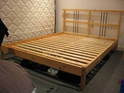Ikea Dalselv Full Bed Frame For Sale In Philadelphia