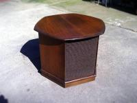 Mid-century 60s End-Side Table with Speaker builtin. - for ...