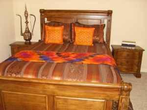 MInt condition Queen 5 piece Bedroom set also includes mattressAshely  broken arrow for Sale