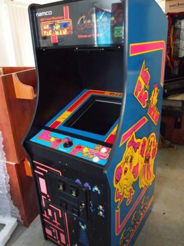 Ms Pacman Galaga Pac Man Upright Video Arcade Game Brand
