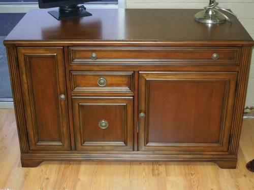 New HOOKER Brookhaven 48 Credenza Desk Item 281 10 464 Very Nice For Sale In Greensboro North