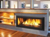 """New Modern Linear 42"""" Gas Fireplace, Regency HZ40E Wide ..."""