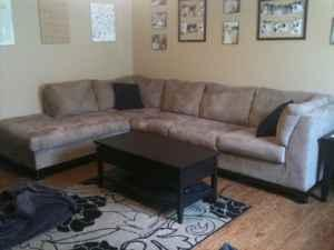 Newmodern Micro Suede Sectional Couch Ozark For Sale In Springfield Missouri Classified