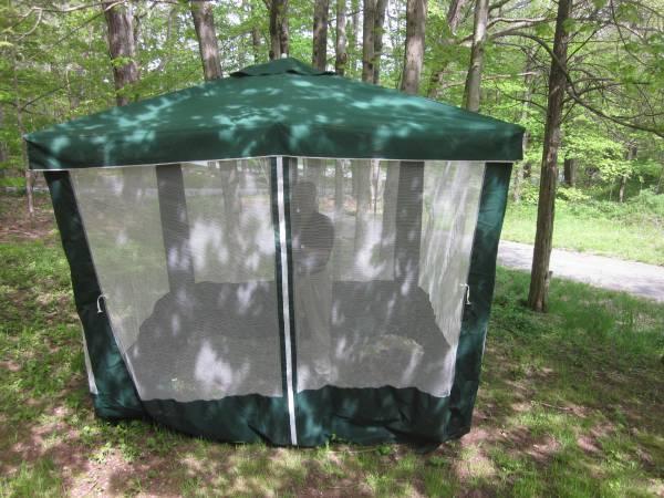 Outdoor Screen Room Lawn Patio Porch Enclosure Umbrella