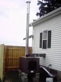 Outdoor Wood furnace forced air for Sale in Fort Smith ...