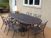 Outdoor Cast Iron patio furniture for Sale in Masonville ...