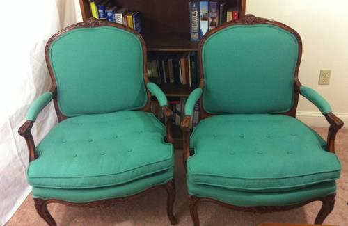 bergere chairs for sale outdoor high top table and set pair of french teal antique vintage arm