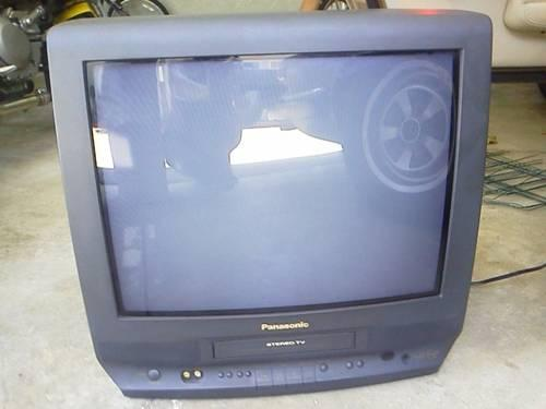 Television Dvd Vhs Combo