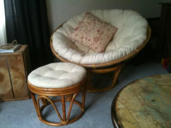 papasan chair on sale cover rentals rochester ny w optional stool for in douglas alaska