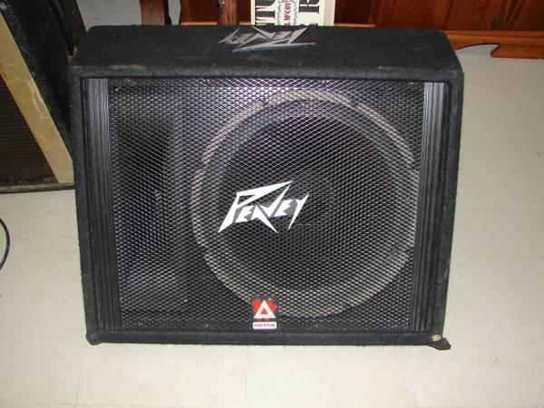 Peavey 115TLM 2Way 15 Floor Monitor Loud Speaker  for