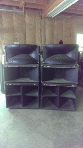 Peavey 12 piece PA speaker system for Sale in Clymer New
