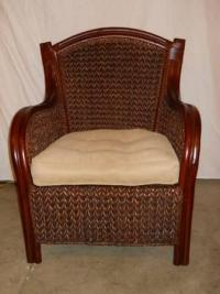 Pier 1 Wicker King Armchair - for Sale in Keedysville ...