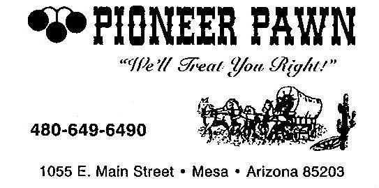 Pioneer Pawn GUN LIST for Sale in Mesa, Arizona Classified