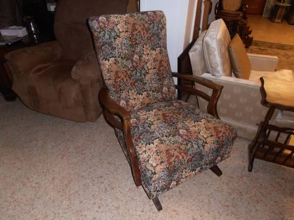 alabama rocking chair office adjustable height reduced antique upholstered for sale in mobile