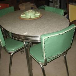 Kitchen Dinette Set Countertops Granite Retro 1950 S Chrome For Sale In Lockhart 450