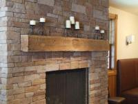 Rustic Fireplace Mantels, Recycled Wood Mantles, Reclaimed ...