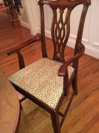 hickory chairs for sale swivel chair urban barn solid mahogany dining by in