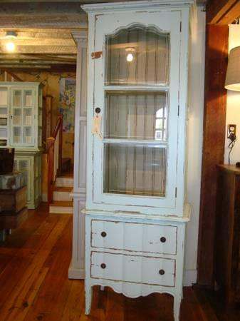 Tall Narrow Cabinets Linen Curio Storage Bedroom Hall