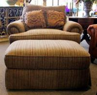 Thomasville Chair & Ottoman - for Sale in Spring, Texas ...