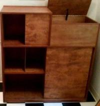 Unique Mid Century Cabinet/Shelves/Media Storage for Sale ...