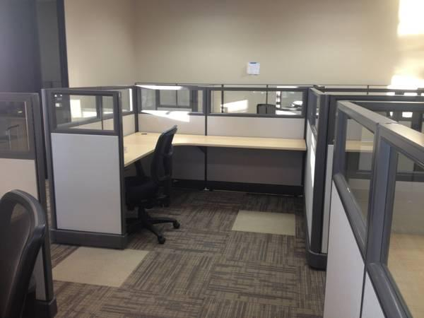 USED CUBICLES TELEMARKETING CUBICLES 4X4 4X2 4X3 AND