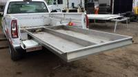 Utility truck bed cover aluminum 8' bed with slide out and ...