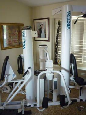 Vectra On Line 3800 Multi Station Weight Machine For Sale