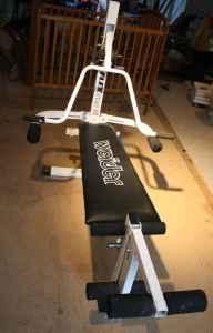 Weider Flex 110 Home Gym Bench Leg Press Mansfield Oh